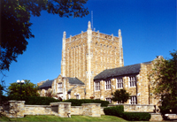 Photograph of McFarlin Library